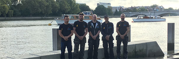 Flush Heating and Plumbing Team in Putney, South West London, by the river