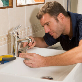Fitting a new tap